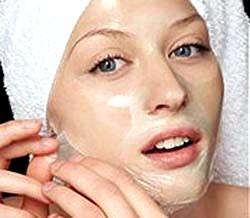 Маски для обличчя з желатину