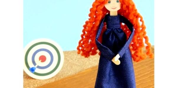 Майстер-клас зі створення ляльки: робимо диснеївську Меріда