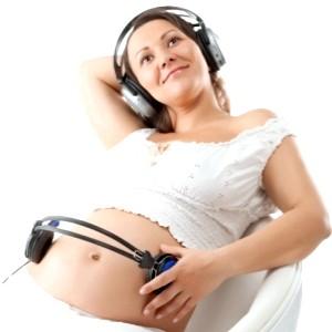 Музика при вагітності фото