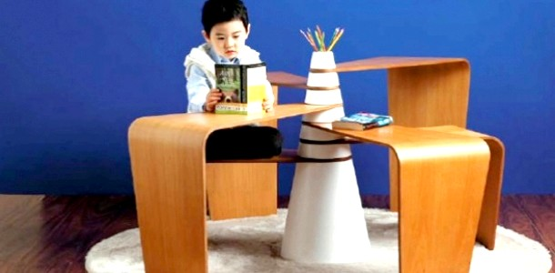 Незвичайний дитячий столик-трансформер (ФОТО)