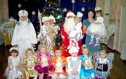 Новорічні свята у дитячому садку