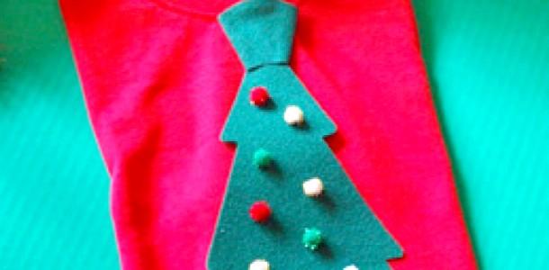 Новорічний краватка для маленького стиляги