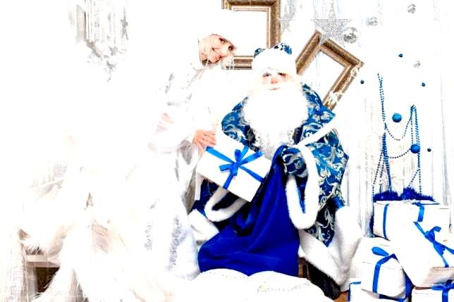 Новий рік і Різдво на картинах художників