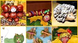 Осінні вироби своїми руками для дітей