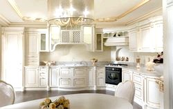 Особливості кухні в класичному стилі фото