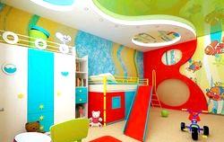 Особливості ремонту дитячої кімнати фото