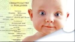 Перші документи малюка. Оформляємо без проблем