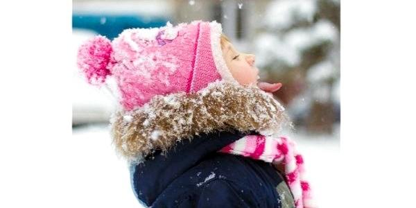 Перший сніг: дитячі фото в Instagram