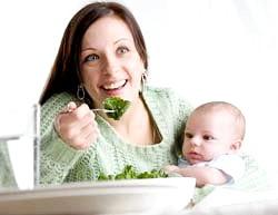 Харчування породіль і мам, що годують грудьми