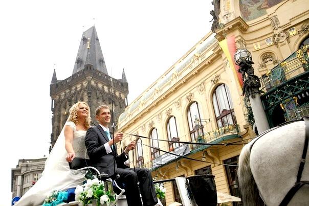 Чехія. Казкове весілля