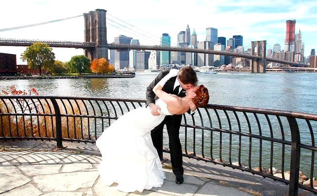 США. Модна Нью-Йоркська весілля.