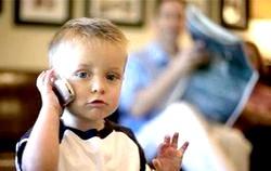 Чому дитині потрібен стільниковий телефон?