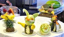 Вироби з фруктів. Кращі Ідеї фото
