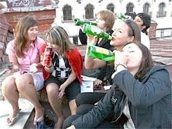 Підлітковий алкоголізм: погляд з боку