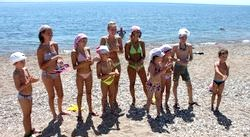 Популярні дитячі табори Росії