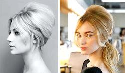 Зачіска бабета. Модно і популярно фото