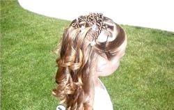 Зачіски для довгого волосся для дівчаток
