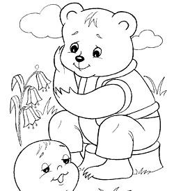 Розфарбування Дитячі казки