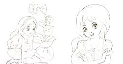 Розмальовки для дівчаток