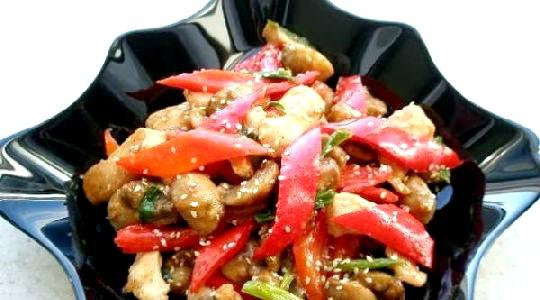 Рецепти салатів з грибами