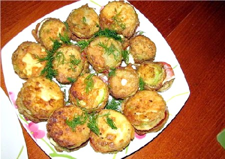 Рецепти смажені кабачки