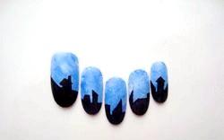 Розпис нігтів. «Ніч на Хеллоуїн». Майстер клас з покроковими фото