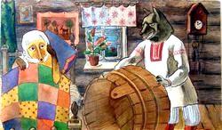 Російські народні казки. Лисиця-повитуха
