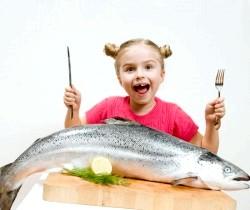 Риба в раціоні дитини фото