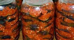 Салат з баклажанів на зиму. Найпопулярніші рецепти