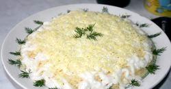 Салат з печінки тріски фото
