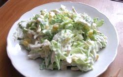 Салат з пекінської капусти. Кращі рецепти