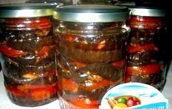 Салати з помідорів на зиму