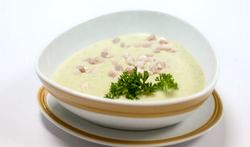 Суп пюре грибний