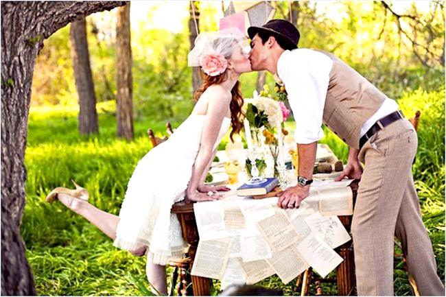 Весілля в стилі вінтаж