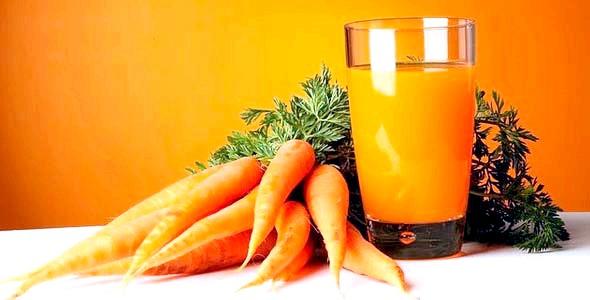 Свіжовичавлений морквяний сік при вагітності