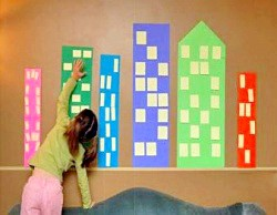 Чим зайняти дитину: аплікації зі стікерами