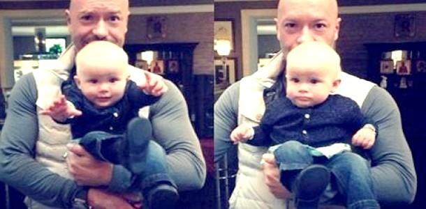 Федір Бондарчук вперше показав свою внучку (ФОТО) фото