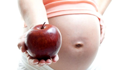 Яблука під час вагітності