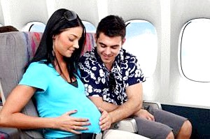 Переліт під час вагітності. Міфи і реальність фото