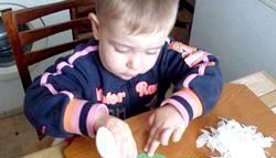 Падалка для дитини 2-3 роки. Сердечко, яблучко, сонечко фото