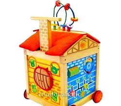 Популярні дерев'яні іграшки для дітей