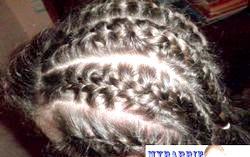 Зачіска для дівчинки. «Колоски». Майстер-клас фото