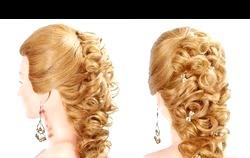 Зачіски на випускний на довге волосся. Фото і відео фото