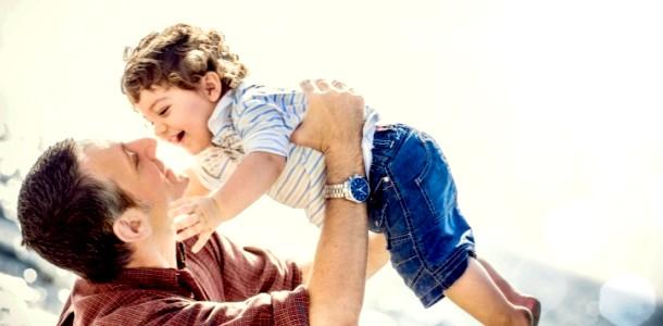 Роль батька у вихованні дитини від року до трьох