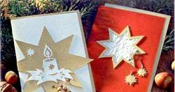 Різдвяна листівка своїми руками фото