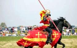 Лицарі середньовіччя фото