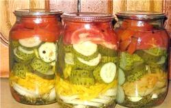 Салати на зиму. Кращі рецепти