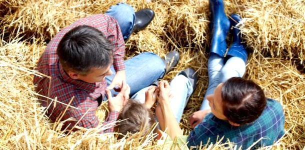 Село, тато і два шибеника: знайомство з родиною