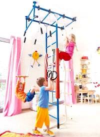 Спортивний куточок в дитячій кімнаті