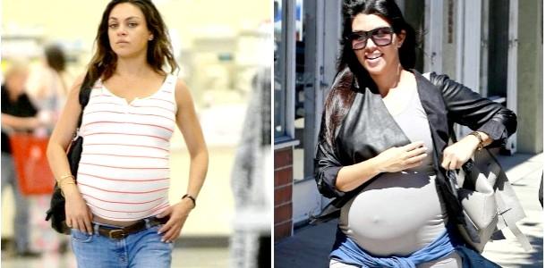 Стильна вагітність Кортні Кардашьян і Міли Куніс (ФОТО)